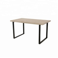 good price metal frame computer desk modern simple design office table