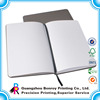 China factory direct custom a7 notebook leather cover with book ribbon