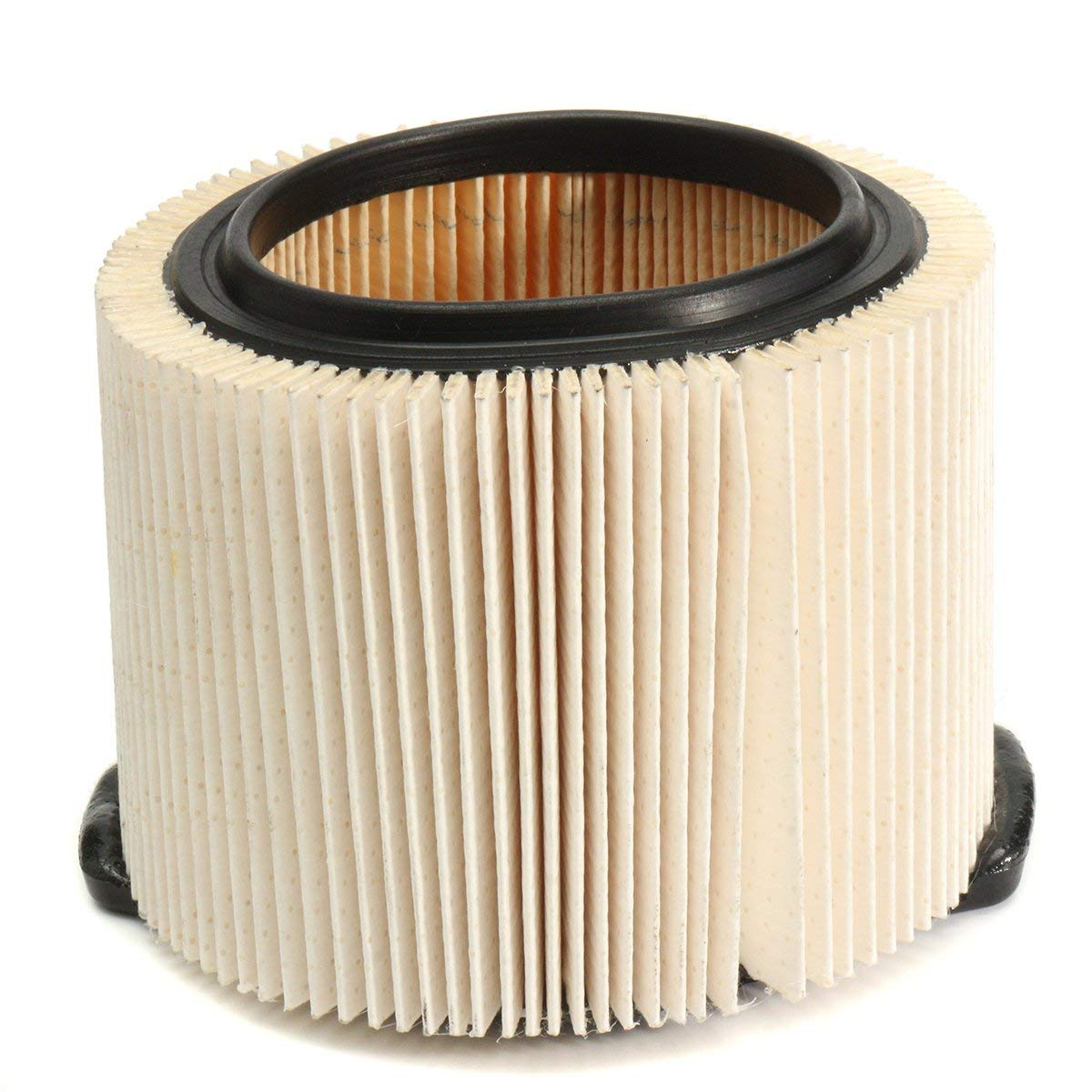 HITSAN 3-Layer Fine Vacuum Dust Replacement Filter Wet Dry Vac Filter for RIDGID VF3500 3 to 4.5 Gallon One Piece