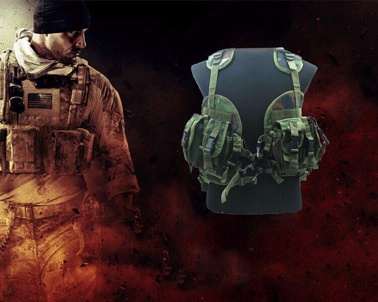 Тактический жилет военный лесной камуфляж охота жилет безопасности одежда тактической бронированная защита
