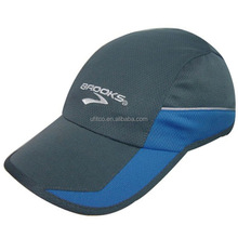 high quality polyester multi panels custom running sports hat