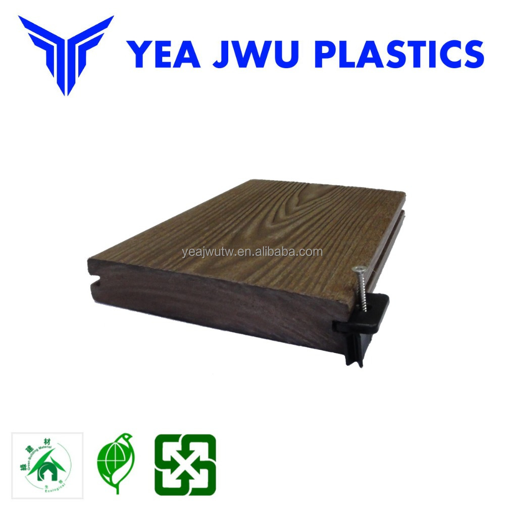 PS plastic decking boards