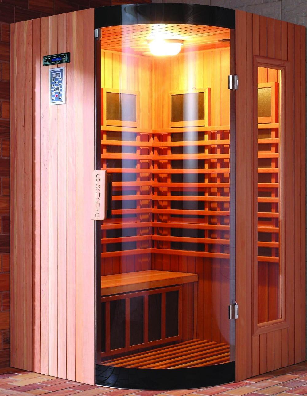 Infrared Sauna With Salt Wall In Nh Hotel Zandvoort The: Infrared Saunas With Burma Hemlock Or Canadian Red Cedar