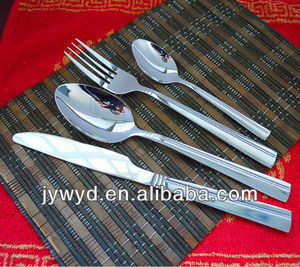 Newly indian style stainless steel cutlery