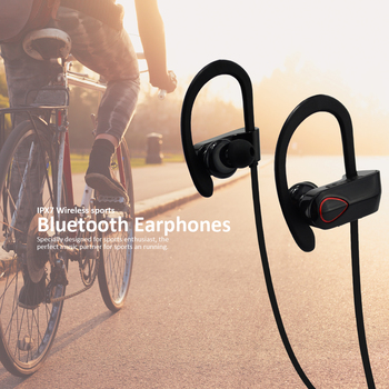 59340e32456 Bluetooth Earbuds Bluetooth V4.1 noise cancelling headphones Wireless  Stereo Sports,running Bluetooth Headphone