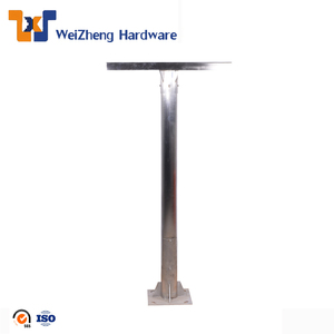 sheet metal fabrication stainless steel street lighting pole