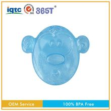 professional custom flexible mouth teether toy for bath