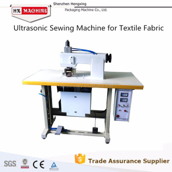No -Woven Bag Ultrasonic Lace Sewing Machine For Garment Industry
