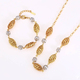 62548 Latest Design Necklace Fashion Jewellery Rani Haar Jewelry Set