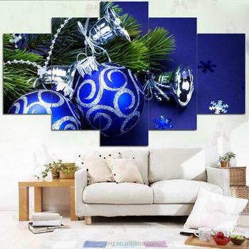 2017 factory direct koop hoge kwaliteit kerst schilderij op canvas met led verlichting led canvas