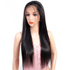 Overnight Delivery Large Stock Free Shipping 100% Unprocessed Human Hair Silky Straight Lace front Wig