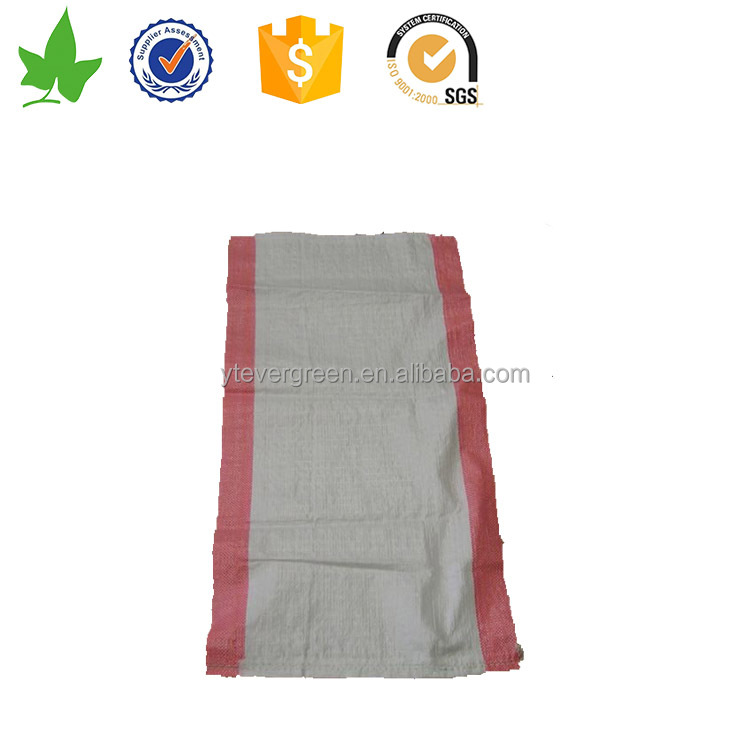 100% new virgin material PP woven 10kg plastic bags for wholesale