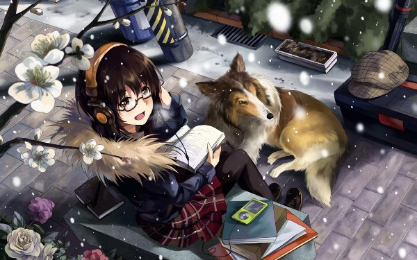 Living room <font><b>home</b></font> wall <font><b>decoration</b></font> fabric poster anime females girls <font><b>asian</b></font> oriental blossoms flowers animals magical artistic