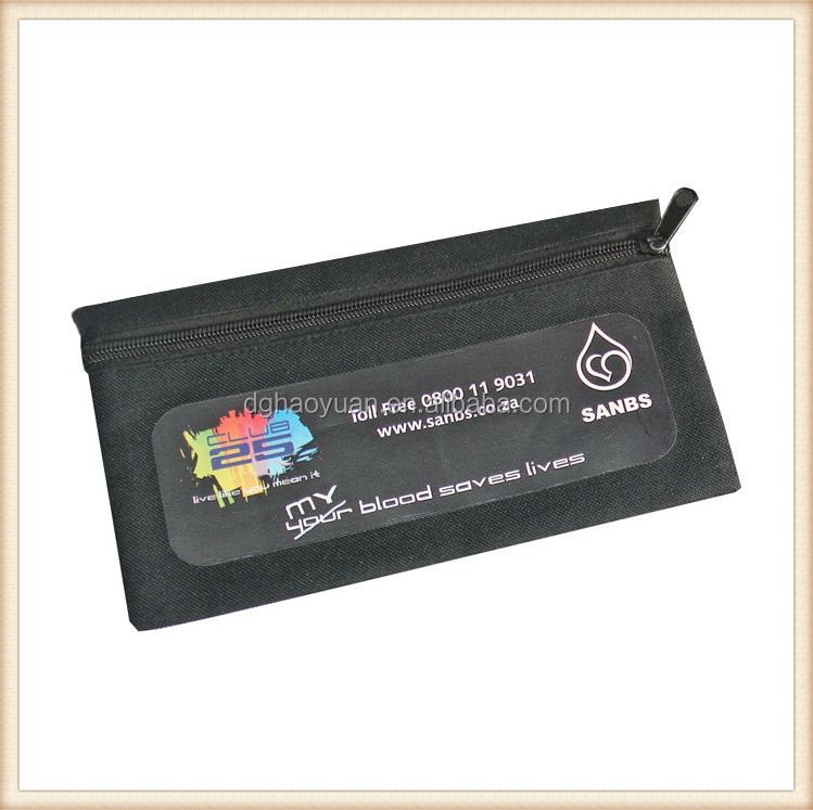 2016 promotional school pencil case with zipper