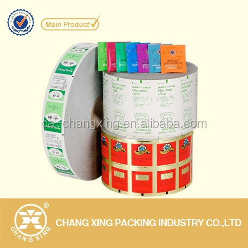 heat seal paper laminated sugar sachet with custom design printing