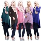 High Quality Middle East Dress Shirts Moroccan Abayas For Women Muslim Costume Clothing (A3221)