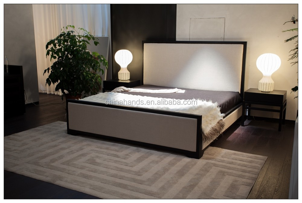 lit double moderne uc chambre coucher alcado en teintes moderne et confortable lit double avec. Black Bedroom Furniture Sets. Home Design Ideas