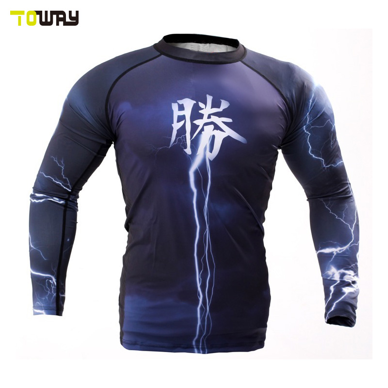 printed lycra rash guards wholesale