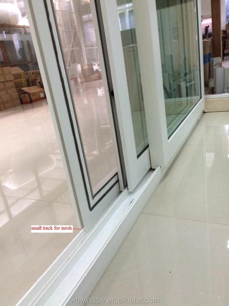 Dise o de interiores de vidrio esmerilado pvc ba o puerta corredera con la red puerta corredera - Schiebefenster horizontal ...