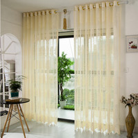 Romantic Drape Panel Sheer Curtain Hottest Tulle Door Window Scarfs Valances Scarf Curtain