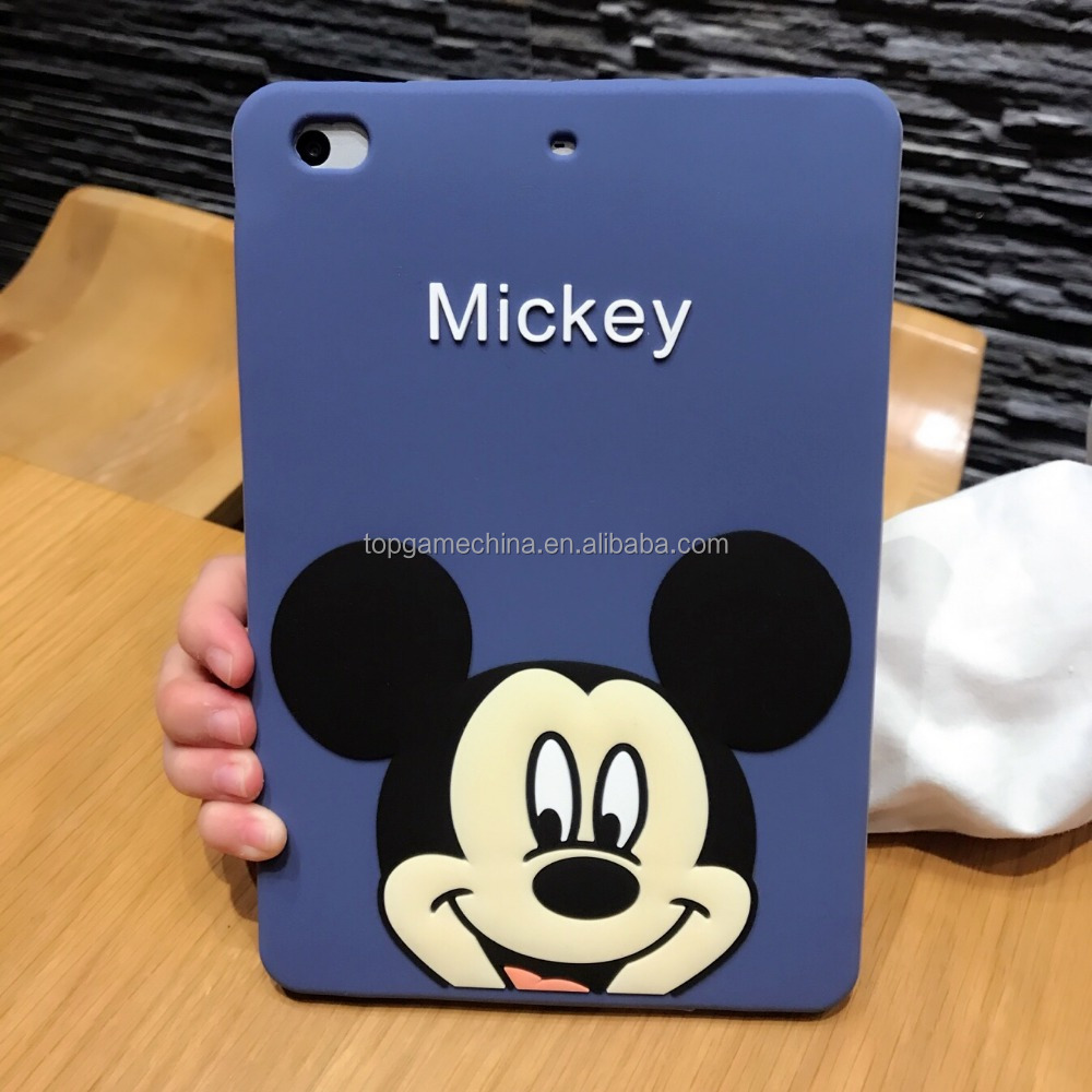 Donald Daisy Duck Silicone Tablet Cover for ipad 2 3 4 5 air air 2