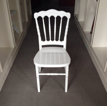 Hot sell Resin White Napoleon Chair