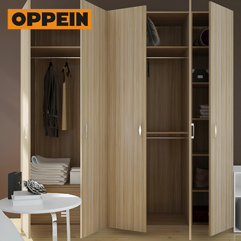 OPPEIN E1 European standard latest door design fair price furniture built in wardrobe
