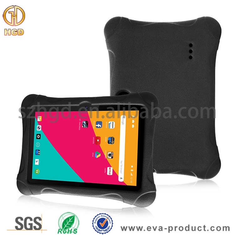 "Kid Proof Silicone Kids 7 Inch Tablet Case, for 7 Inch Q88 Android Q88 A13 / Y88X Plus / Y88X , Alldaymall A88X / A88S 7"" Tablet"