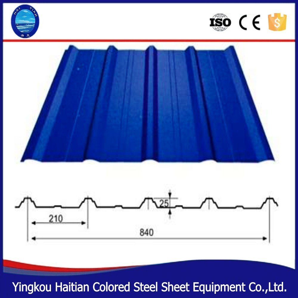 Bending Roof Construction Equipment Color Steel Plate