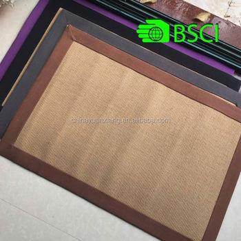 Jute Sisal Indoor Terrasse Teppich Bsci Walmart Gepruft Buy Indoor