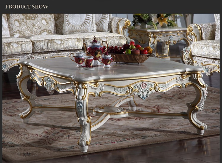 Classic Europe Royal Style Furniture And Solid Wood Living Room