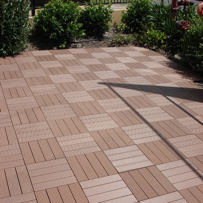 Hdpe Base Wpc Board Grooved Garden Flooring Tiles Buy Grooved
