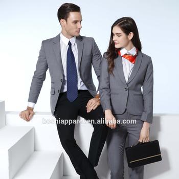 4376bf7886 Diseño personalizado mujeres traje formal de traje de negocios femenino
