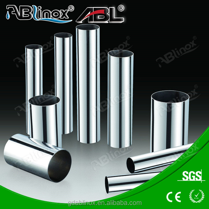 Japan home use tube stainless steel 304 / 316 tube & pipe for railing