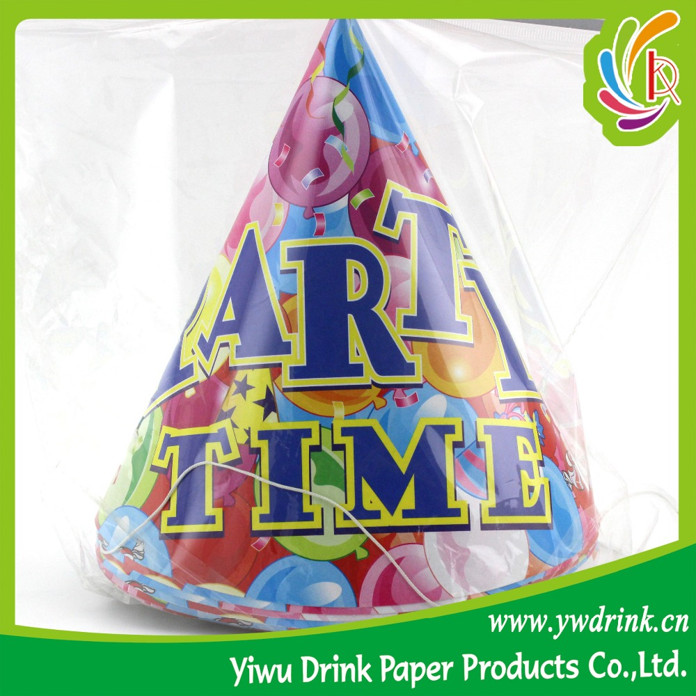 Cheap Kids Birthday Party Paper Hat Wholesale