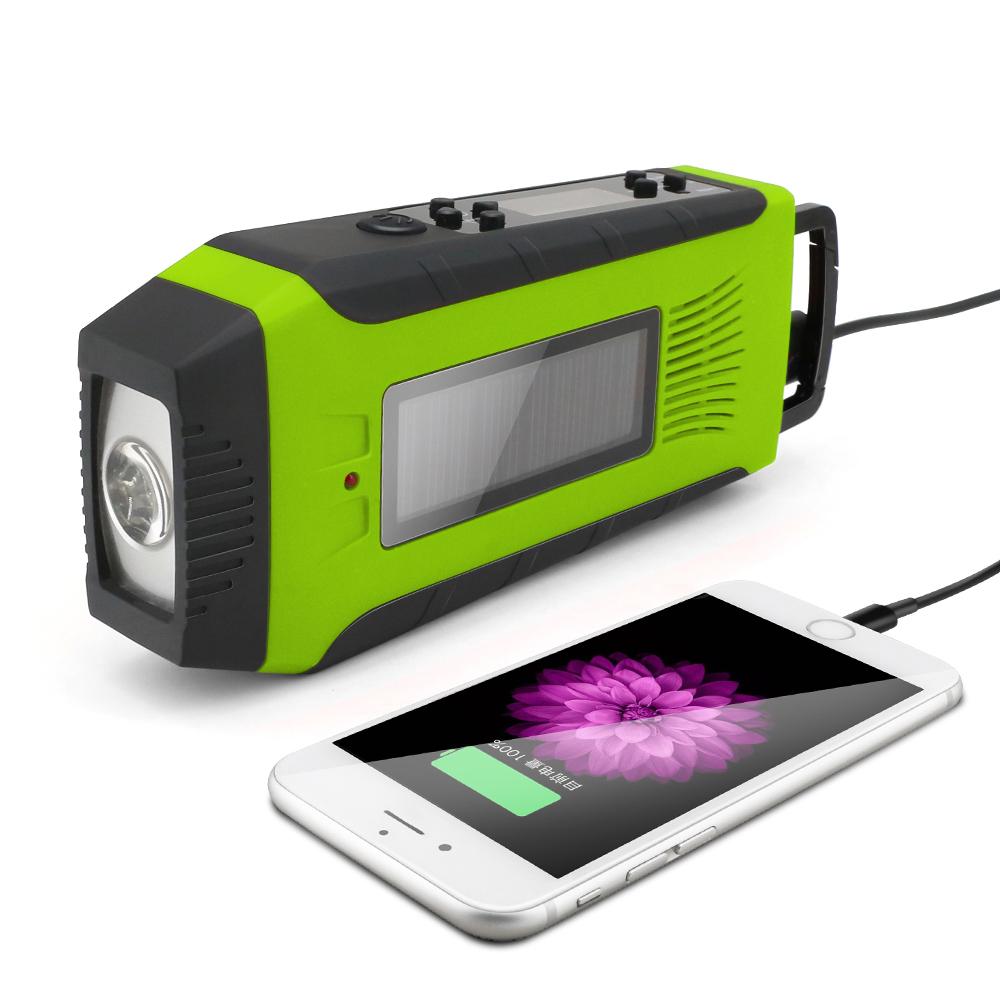 Hurricane Emergency Solar Hand Crank Noaa Weather Radio With Sos Alarm And  Phone Charger - Buy Noaa Weather Radio,Hand Crank Noaa Weather