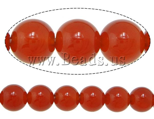 Free shipping!!!Natural Red Agate Beads,Promotion, Round, AA Grade, 14mm, Hole:Approx 1.5mm, Length:15 Inch, 5Strands/Lot