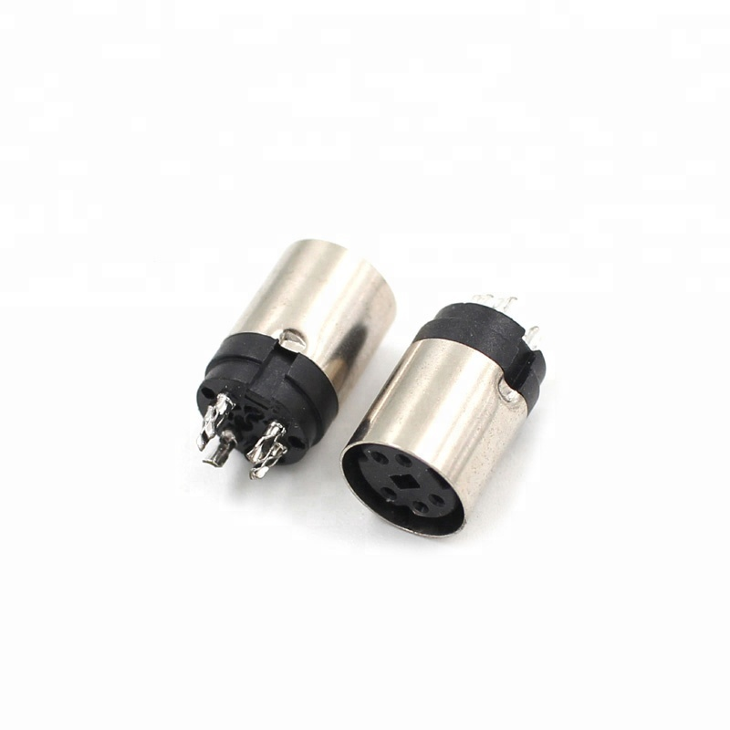Good quality for male female Mini Din 5 pin power Connector