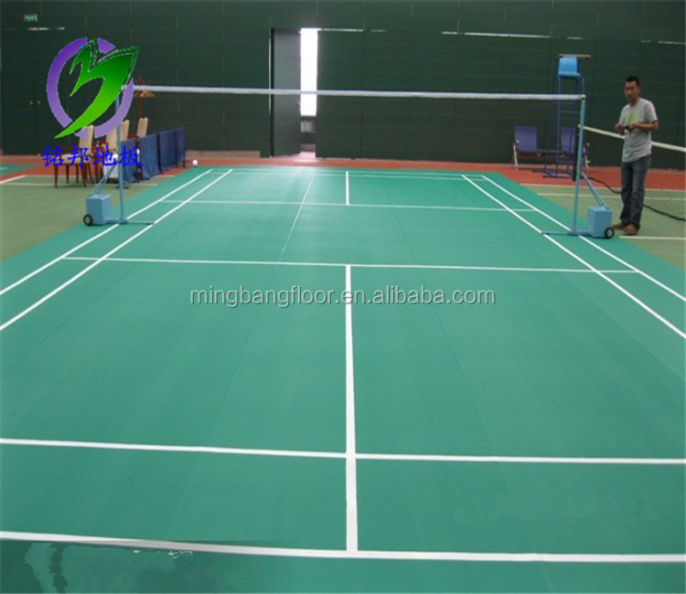 Badminton Flooring Plastic Flooring Pvc Badminton Court Size Buy