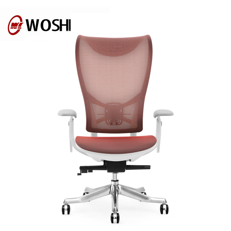Guangzhou furniture manufacturer korean mesh chair ergonomic high back office chair