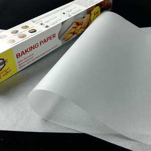 5 meters baking paper wax paper in roll white baking paper