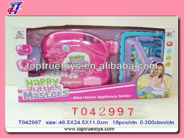 B/o Girls Sewing Machine Play Set,Mini Home Appliance Toy Set For ...