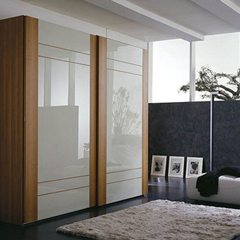 Factory professional wooden melamine modular bedroom wardrobes home furniture