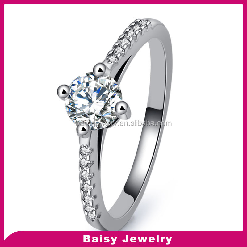 wholesale Fashion Jewelry diamond moroccan silver ring jewelry