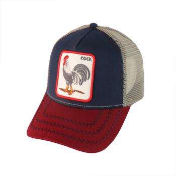 Custom High Quality Sublimated Printed Animal Patch Logo Men Mesh Baseball Trucker  Hat Cap 4b6e02c3a29