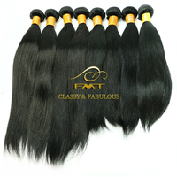Natural black Brazilianstraight hair weave human hair in new york