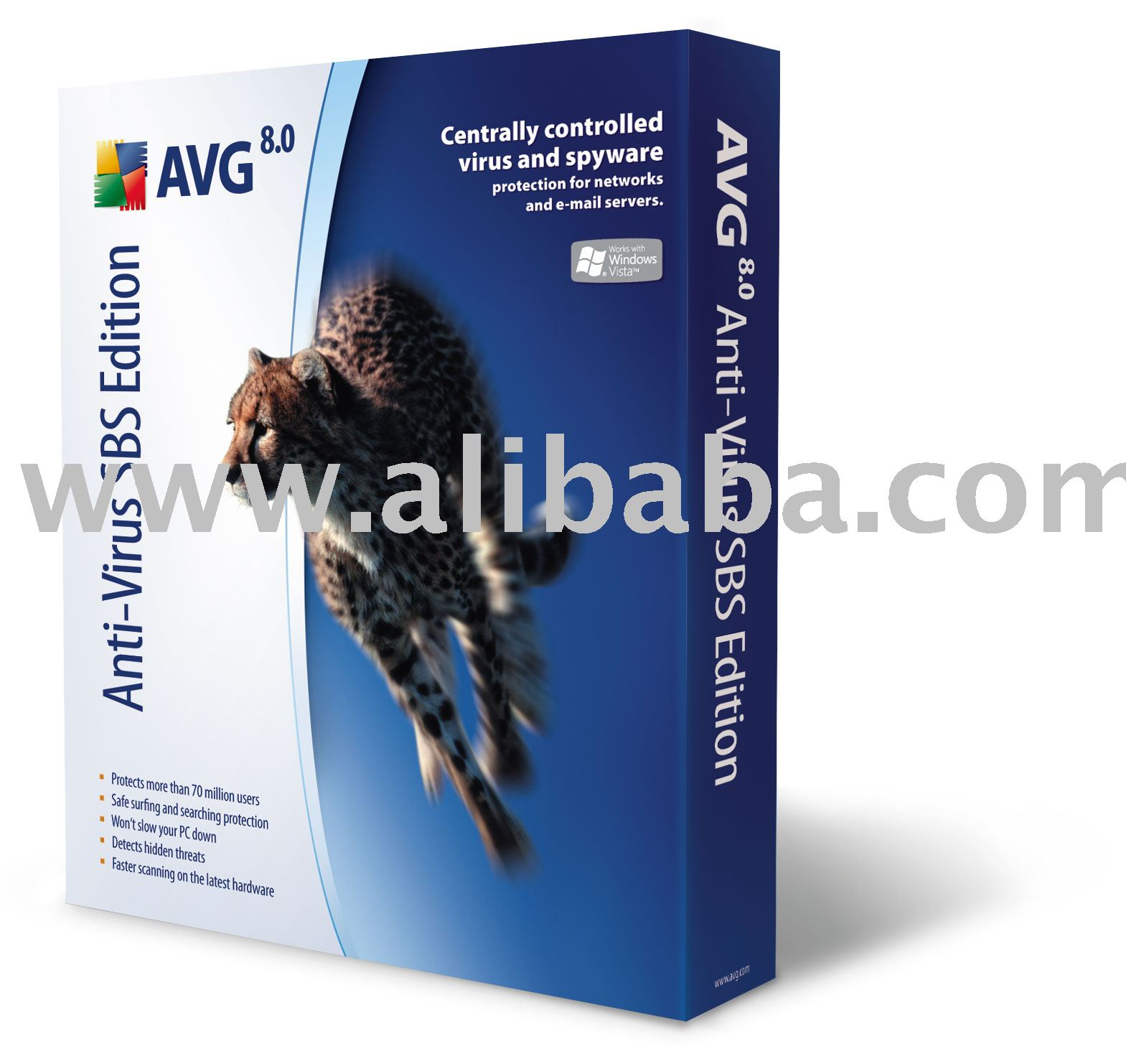 Avg Anti-virus Sbs (small Business Server) Edition Software