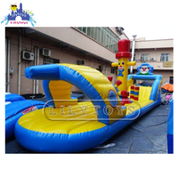 Lilytoys floating on pool mini water park inflatable water toys ready ship