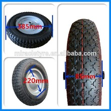 rubber wheels 4.00-8 , 4.00-8 solid tires for scissor lift