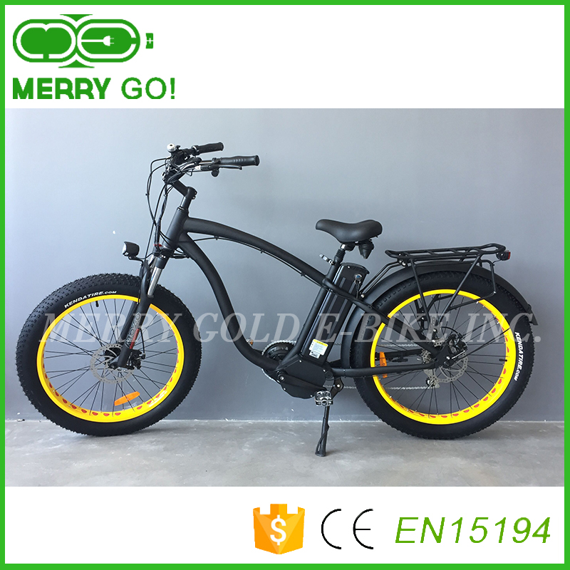 Merry Gold 1000w mid drive Hummer China ebikes with 48V 1000W 26*4.0 Fat Tire